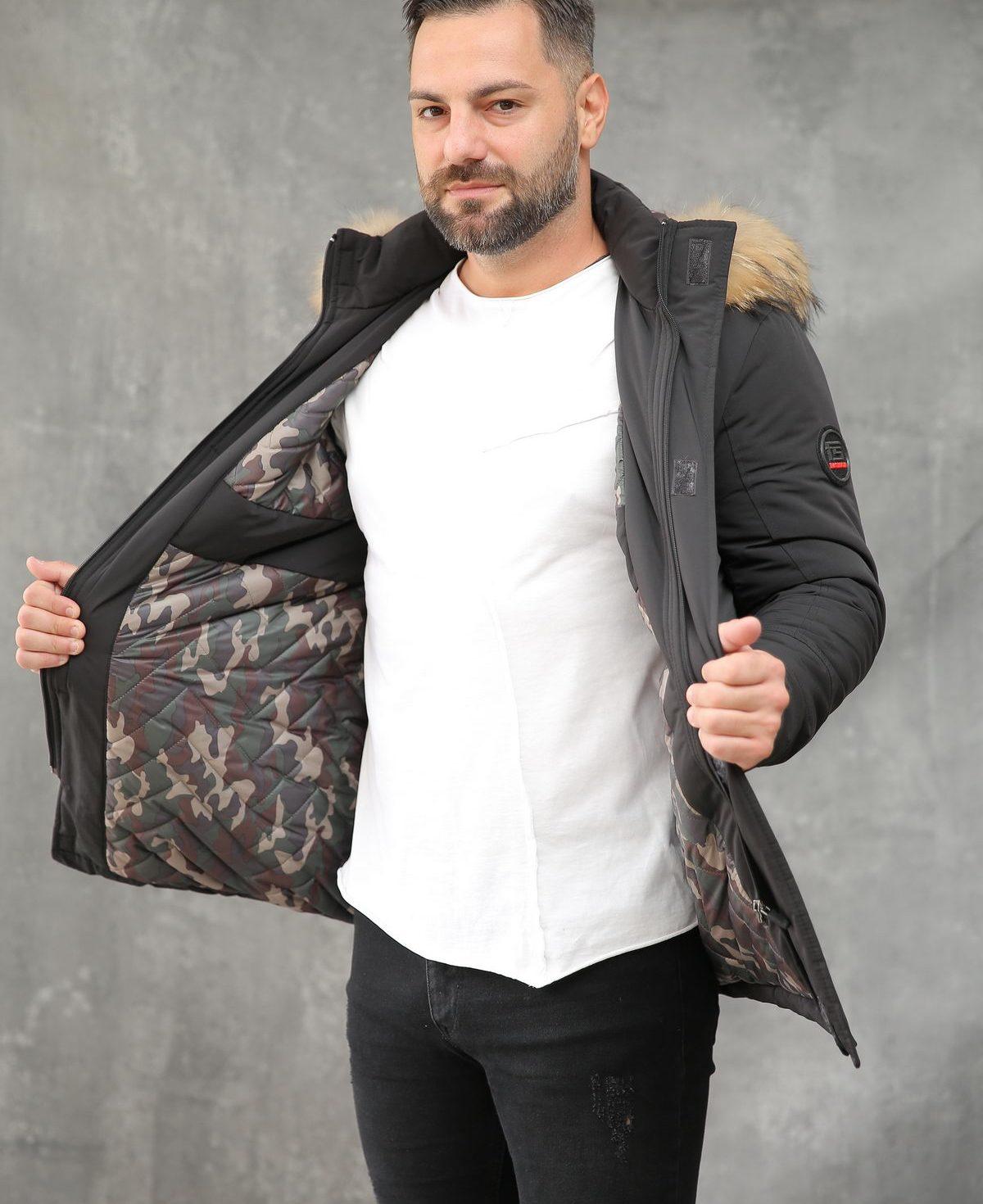 Muška jakna ForteFashion model E8