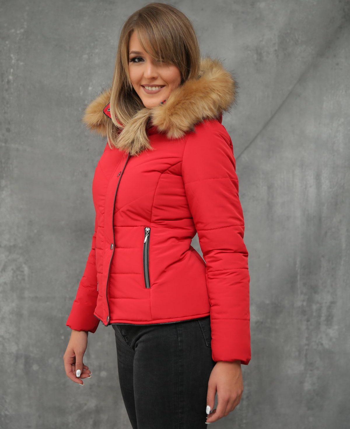 Ženska jakna ForteFashion model F5 (crvena)